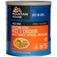 Mountain House Mex Chicken & Rice Can