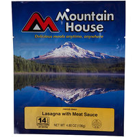 Mountain House Freeze Dried Lasagna with Meat Sauce