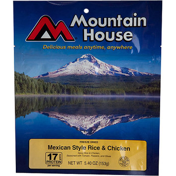 Mountain House Freeze Dried Mexican Style Chicken with Rice