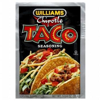Williams Seasoning Taco Chipotle 1.25 Oz Pack Of 24