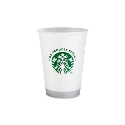 Starbucks Coffee SBK11002236 Compostable Cup- 12 oz. 1000-CT- White