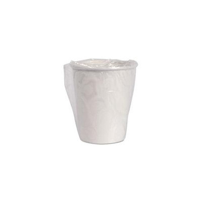 Solo Cup Company W370 Wrapped Single-sided Poly Paper Hot Cups 10oz White 50/bag 20 Bags/carton