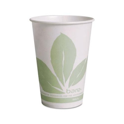 SOLO Cup Company Treated Paper Cold Cups, 10 oz, 2000/Carton