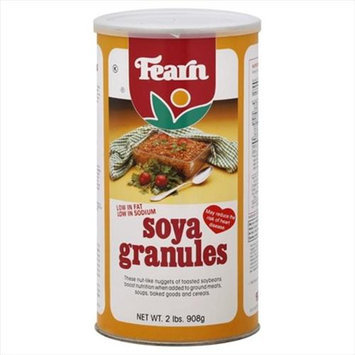 Fearn Soya Granules 32 Oz -Pack of 12