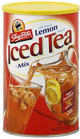 Shoprite Iced Tea Mix-Natural Lemon Flavor