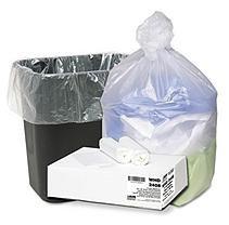 Webster Industries Webster Trash Bags 10 gal. High Density Resin Can Liners (1000 per Carton) WBIHD24248N