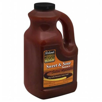 KeHe Distributors 82205 ROLAND SAUCE FUSION SWT & SOUR - Pack of 2 - 1 GA