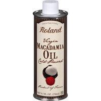 Roland Virgin Macadamia Oil, 8.5 oz Can