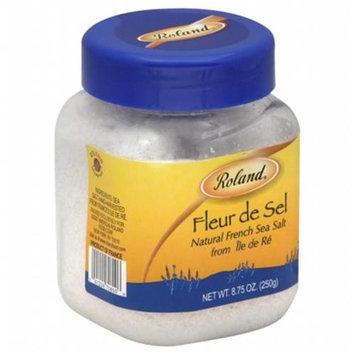 KeHe Distributors 78967 ROLAND SEA SALT FLEUR DE SEL - Pack of 6 - 8.8 OZ
