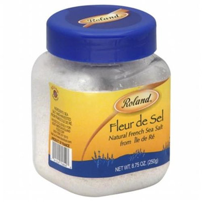 KeHe Distributors 78967 ROLAND SEA SALT FLEUR DE SEL - Pack of 6 - 8.8 OZ