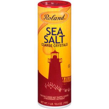 Roland Coarse Crystals Sea Salt, 26.4 oz