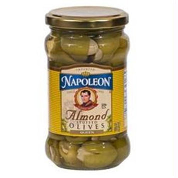Napolean Fireplaces Perla Pacifica, Almond Stuffed Olives (12x12/6.5 Oz)