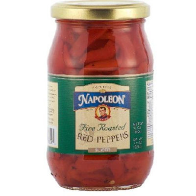 Napolean Fireplaces Napoleon Co. Red Peppers Sliced (12x12OZ )