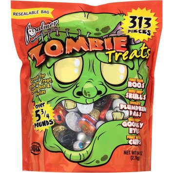 Palmer Zombie Treats Candy, 313 count, 5.875 lbs