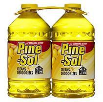 Pine-Sol Multi-Surface Disinfectant, Lemon Scent (2pk,100oz.)