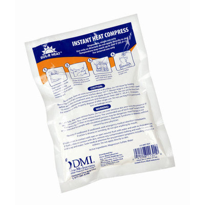 Mabis 612-0032-9724 Instant Heat Compress - Case of 24 Boxes