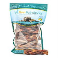 Best Bully Sticks 6 Inch Braided Bully Sticks - 25 Pack