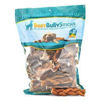 Best Bully Sticks 6 Inch Braided Bully Sticks / 50 Pack