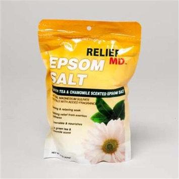 DDI 1188547 Green Tea and Chamomile Scented Epsom Salt Case Of 12