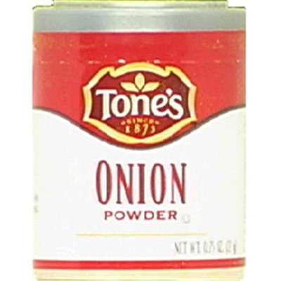 Tone's Onion Powder Granulated, Pack of 6