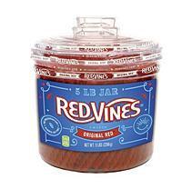 Red Vines Original Red Twists(5 lb. tub)