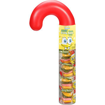 Nickelodeon SpongeBob SquarePants Giant Krabby Patties Gummy Candy, 3.5 oz