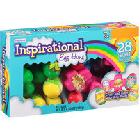 Inspirational Cross and Easter Eggs filled with Jelly Beans, 28 count, 4.93 oz