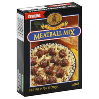 Tempo Mix Ssnng Meatball Swedish -Pack of 12