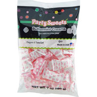 Party Sweets Fingers & Toes/Girl Buttermint Creams Candy, 7 oz