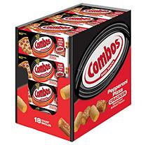 Combos Cracker Snacks, Pepperoni Pizza, 18 ct