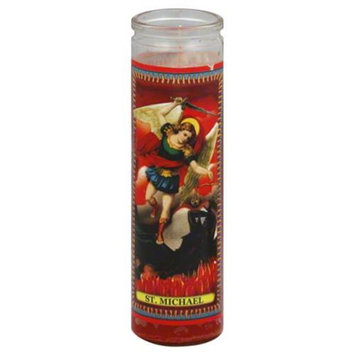 Reed Candle Candle St Michael Red Wax 1 Ea Case of 12