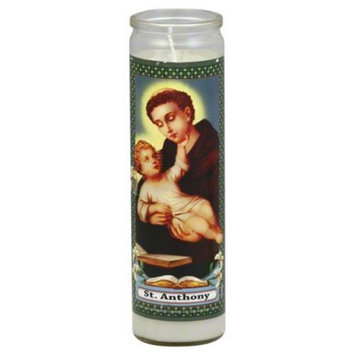 Reed Candle Candle St Anthony White Wax 1 Ea Case of 12
