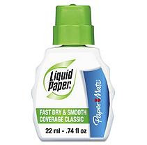 LIQUID PAPER Paper Mate Fast Dry Classic Correction Fluid