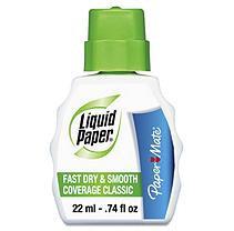 LIQUID PAPER Paper Mate Fast Dry Classic Correction Fluid