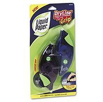 LIQUID PAPER Paper Mate Dryline Grip Correction Tape, 2/Pack
