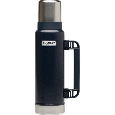 Stanleyr 1.1 Qt. Classic Vacuum Bottle Hammertone Navy