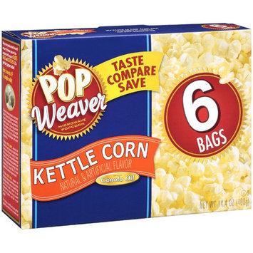 Pop Weaver Kettle Corn Popcorn, 6ct