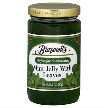 Braswell Jelly Mint W Leaves -Pack of 6