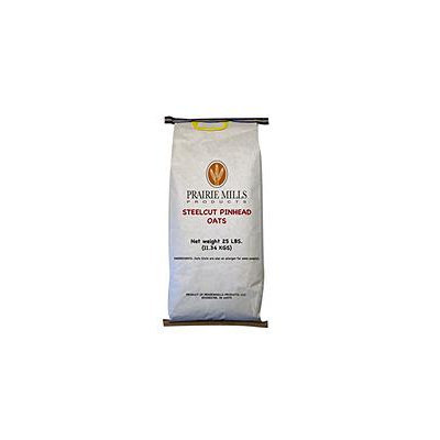 Prairie Mills Steelcut Pinhead Oats - 25 lb. bag - Hot Cereal