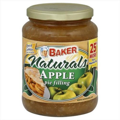 Baker S Secret Baker Naturals Pie Filling Apple - 25.5 oz
