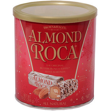 Almond Roca Buttercrunch Toffee with Almonds, 10 oz