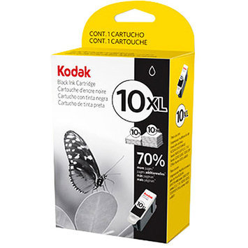 Kodak 10XL High Yield Ink Cartridge - Black - Inkjet