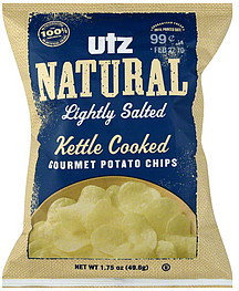 UTZ Potato Chips Gourmet Natural Kettle Cooked