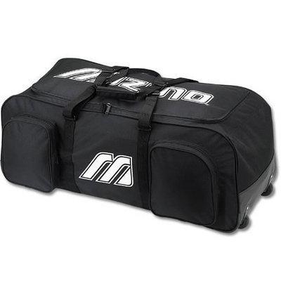 Sport Supply Group 5TBT46BK Baseball And Softball Accessories Mizuno Equipment Wheel Bag
