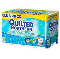 Quilted Northern Ultra Soft & Strong Tissue, 2 Ply (36 Jumbo Rolls, 233 Sheets)