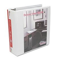 Office Impressions Round Ring Economy Vinyl View Binder