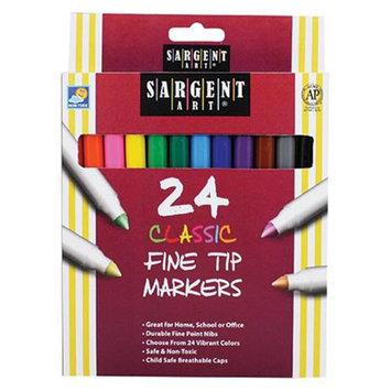 Sargent Art Inc. SAR221524 Sargent Art Classic Markers Fine Tip 24 Colors