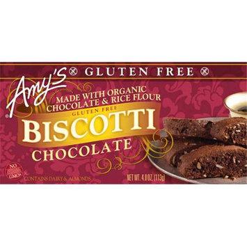 Amy's Kitchen Biscotti Gluten Free Chocolate