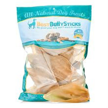 Best Bully's Economy Cow Ears Dog Treats - 80 Pack