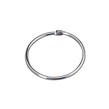 Officemate International Corp OIC99704 Book Rings- 2in. Diameter- Silver